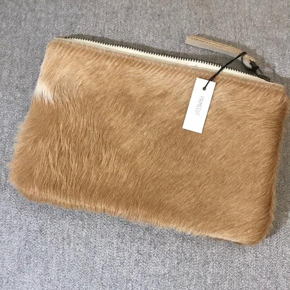 7ee59c63f Bags | Primecut Medium Pouch Cowhide Clutch | Poshmark